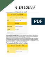 Sismos en Bolivia 222
