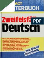 Zweifelsfälle Deutsch (Compact Wörterbuch)