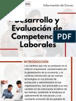 Curso de Desarrollo y Evaluación de Competencias Laborales