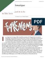 Le plus gros bobard de la fin du XXe siècle, par Serge Halimi & Pierre Rimbert (Le Monde diplomatique, avril 2019)