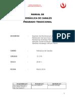 Manuales de Laboratorio_Hidraulica Canales_ Ing. Civil