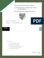 286183977 Informe de Maquinarias Para Una Carretera