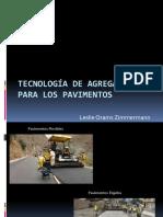 Tecnología de los agregados para pavimentos