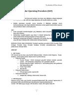 Standar Operating Procedure (SOP)