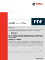 Air Inlet Filters