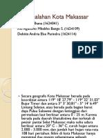 Permasalahan Kota Makassar