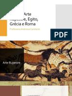 História das Artes