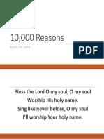 10,000 Reasons.pptx