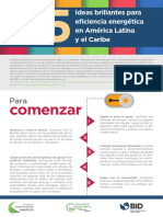 25 Ideas Brillantes Para Eficiencia Energética en América Latina y El Caribe