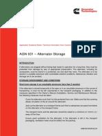 Alternator Storage