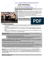 Cox News Volume 8 Issue 25