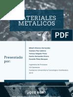 presentacion metales