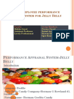 Performance Appraisal System-Jelly Belly