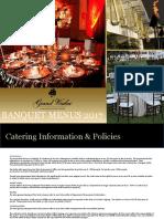 Grand Wailea Tasting Menu for Banquets