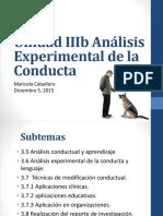 Unidad IIIb Análisis experimental de la conducta.pptx