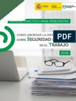 Manual Practico de Periodistas para hablar de Seguridad y salud en el trabajo