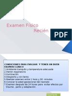 Examen fisico rn