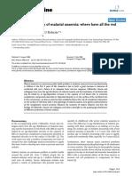 The pathophysiology of malarial anaemia