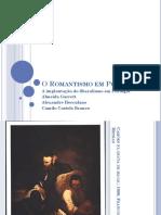 A Literatura Romântica.