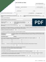 formulario derecho