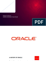 Oracle History