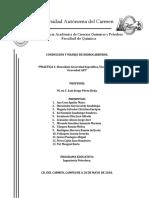 Práctica 1. Densidad, Gravedad Específica, Viscosidad y Gravedad API