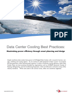 13 08 15 Data Center Cooling Best Practices