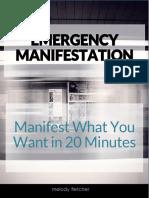 Emergency Manifesting