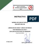 Instructivo Descarte Militar UXOS Empresas 2019