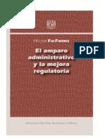 EL AMPARO ADMINISTRATIVO Y LA MEJORA REGULATORIA DE HECTOR FIX FIERRO.pdf