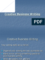 Creative Business Writing