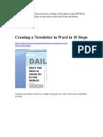 How Create a Document.docx