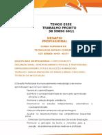 Desafio Profissional- Cst Gesta Fin-  TENHO PRONTO 38 99890 6611