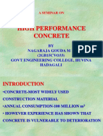high performance concete