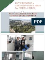 Proiect Erasmus k1 Diseminare Nov2016