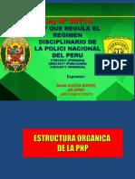 REGIMEN DISCIPLINARIO PNP- LEY N° 30714 -2019