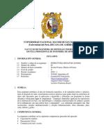 Syllabus Estructuras de Datos - EPIS 2019-I
