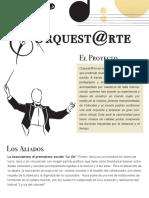 Presentación Orquest@Rte
