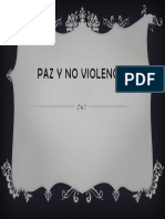 Paz y No Violencia
