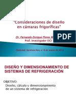 Consideraciones de Diseño en Cámaras FRigoríficas_Presentación SPI2016