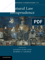 [Cambridge Companions to Law] George Duke, Robert P. George - The Cambridge Companion to Natural Law Jurisprudence (2017, Cambridge University Press).pdf
