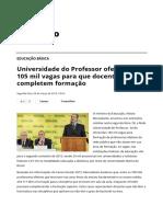 Universidade Do Professor