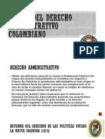 Origen Del Derecho Administrativo Colombiano