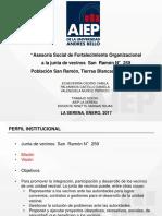 Experiencias Internacionales. Chile. Ing. Andres Alarcon