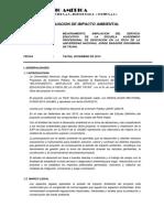 Revisión Evaluacion Impacto Ambiental Fech Unjbg