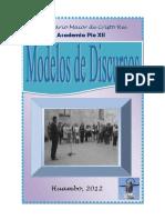 Modelos de Discursos. 2012