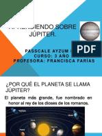 Aprendiendo Sobre Júpiter
