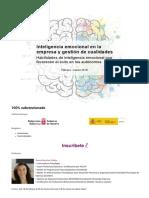 Inteligencia Emocional en La Empresa y Gestión de Cualidades - Club de Marketing de Navarra
