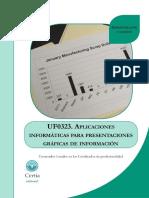 Uf0323 Aplicaciones Informaticas Para Presentaciones Graficas de Informacion