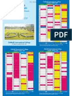 Academic Calendar-2019 College